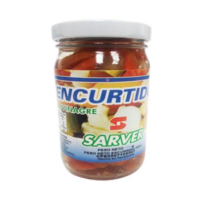 SARVER ENCURTIDOS EN VINAGRE 500GR