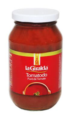 LA GIRALDA PURE DE TOMATE TOMATODO 490GR