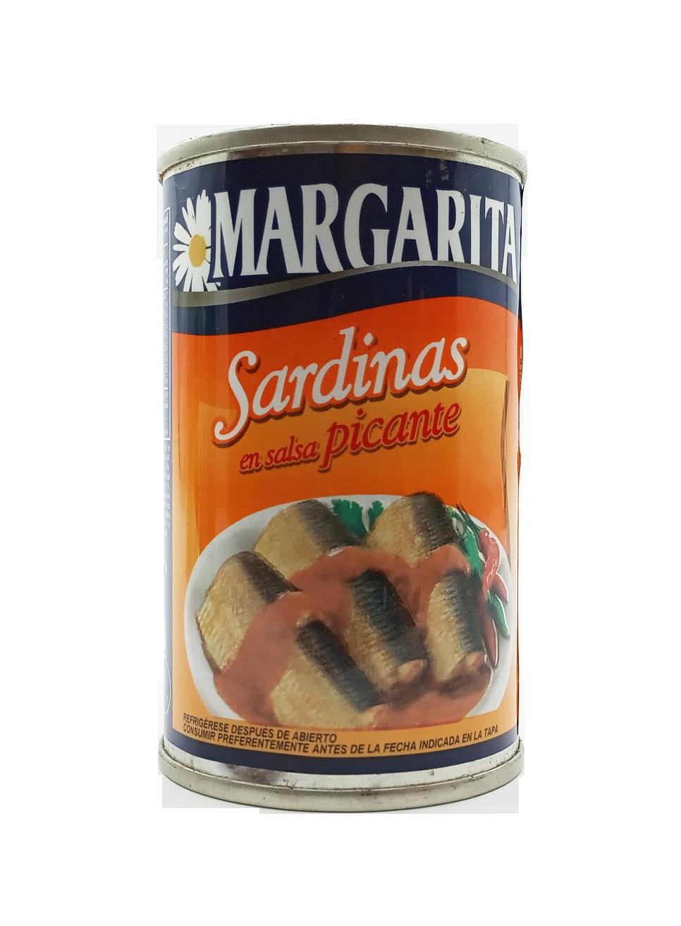 MARGARITA SARDINAS SALSA PICANTE 170GR