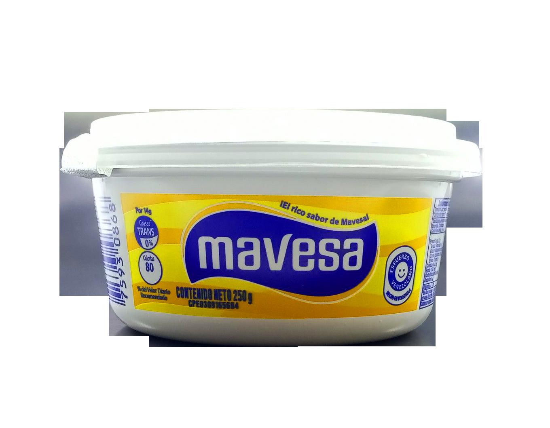 MAVESA MARGARINA NORMAL 250GR