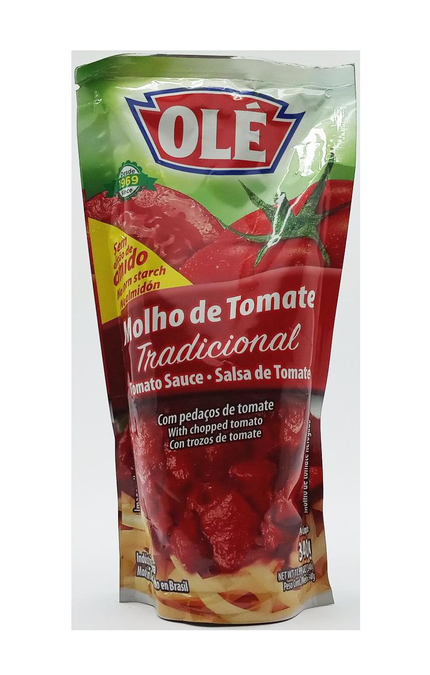 OLE SALSA DE TOMATE REFOGADO POUCH 340GR