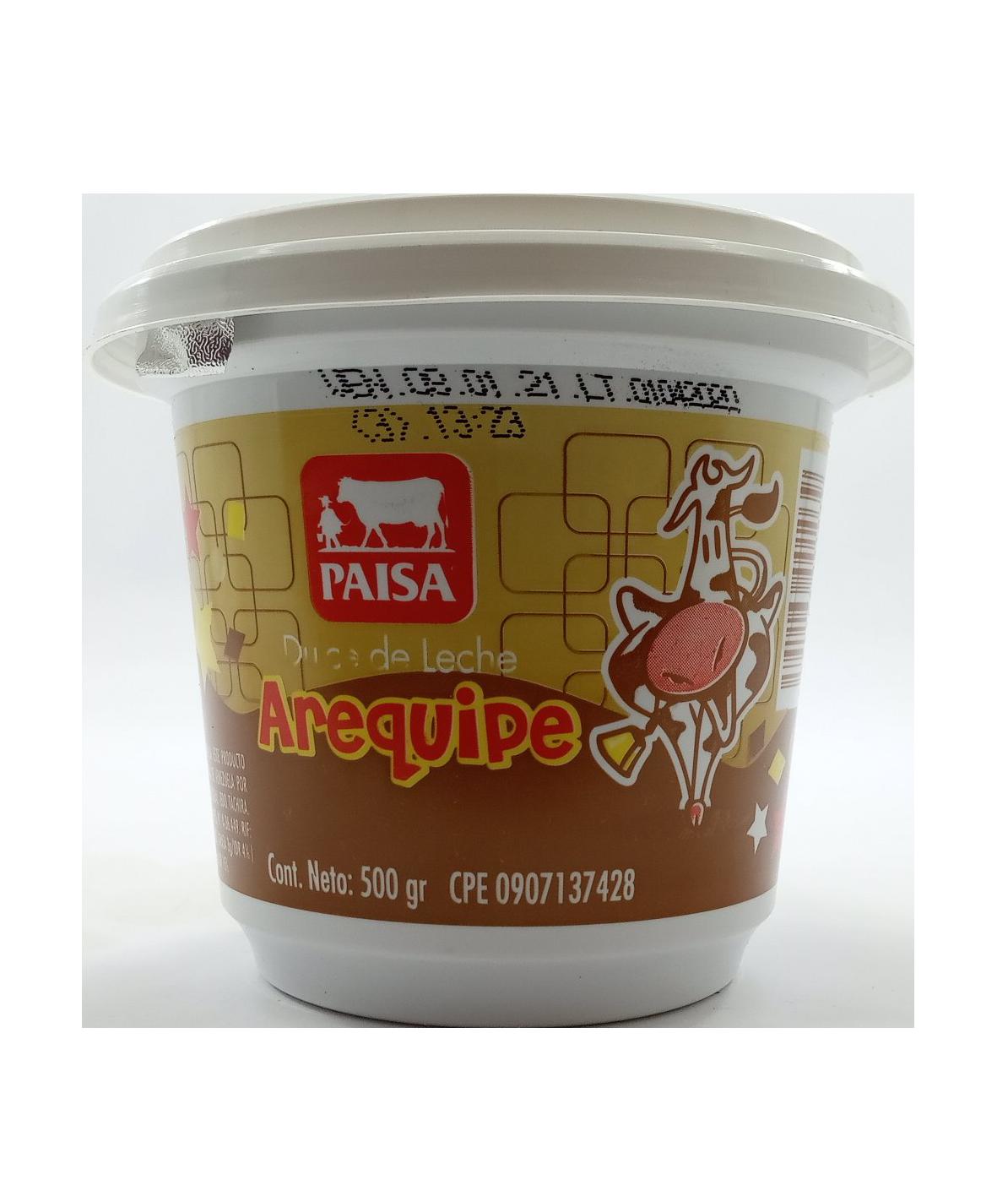 AREQUIPE PAISA 500 GR