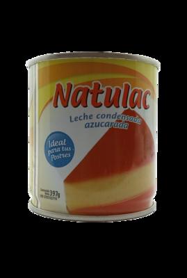 NATULAC LECHE CONDENSADA LATA 397GR