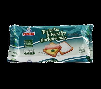 BIMBO PAN TOSTADO INTEGRAL 150GR