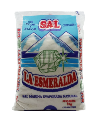 LA ESMERALDA SAL 1KG