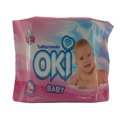 OKI TOALLAS HUMEDAS BABY LOTION 24 UND 19220044