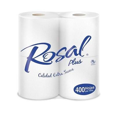 ROSAL PLUS PAPEL HIGIENICO 400H 4un