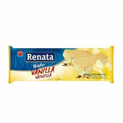 RENATA WAFER VAINILLA 115GR