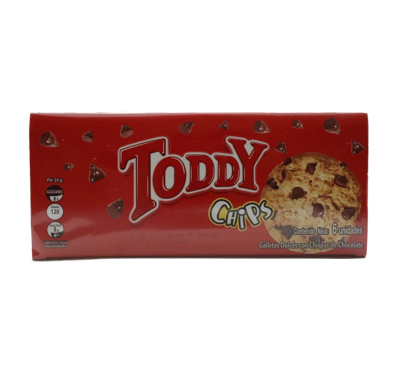 TODDY GALLETAS CHIPS 24GR