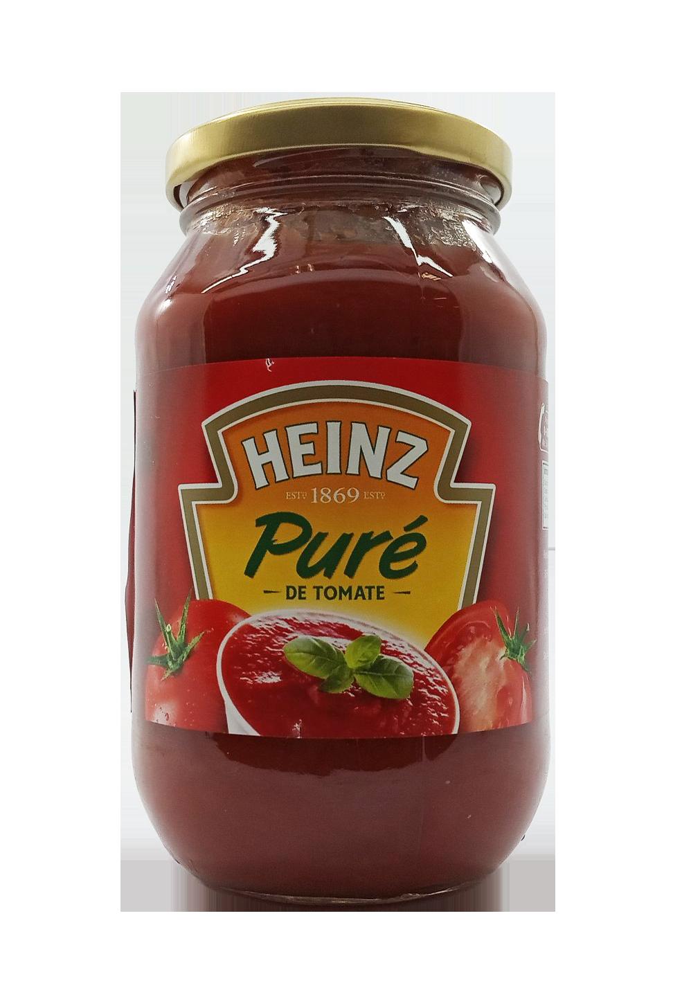 HEINZ PURE DE TOMATE 490GR