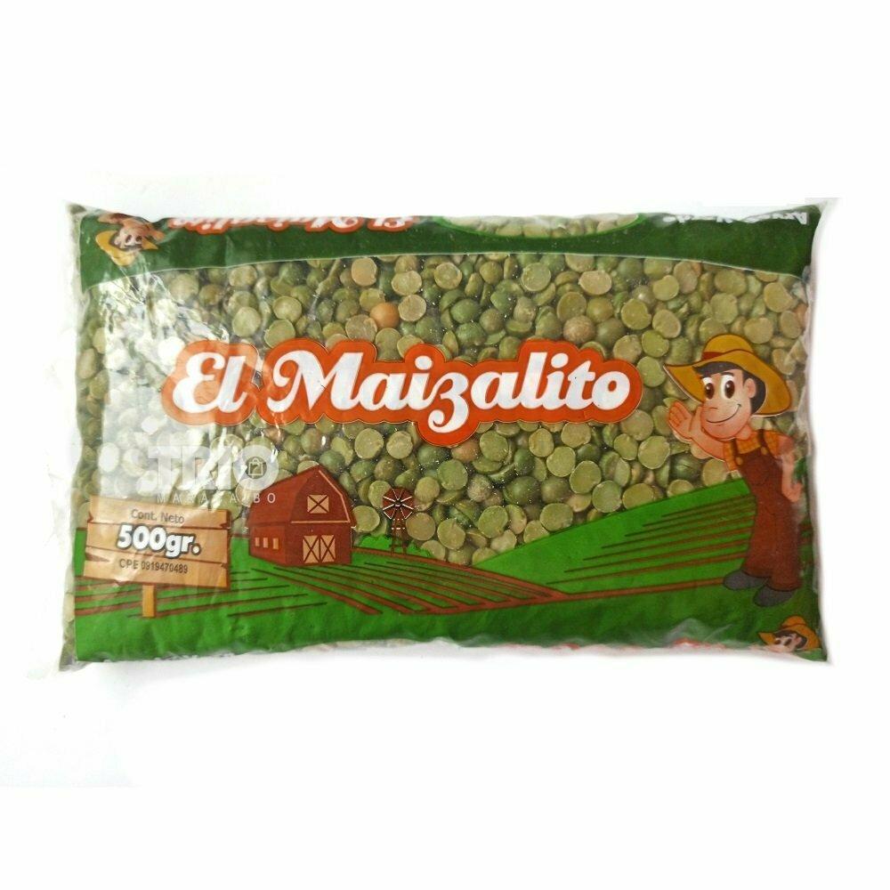 EL MAIZALITO ARVEJA VERDE PARTIDA 500GR
