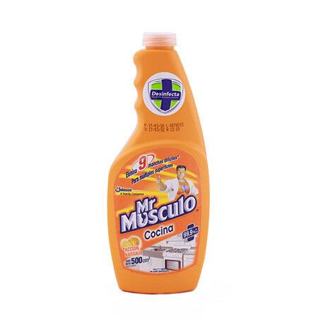 MR MUSCULO ANTIGRASA COCINA CITRUS 500ML 10797