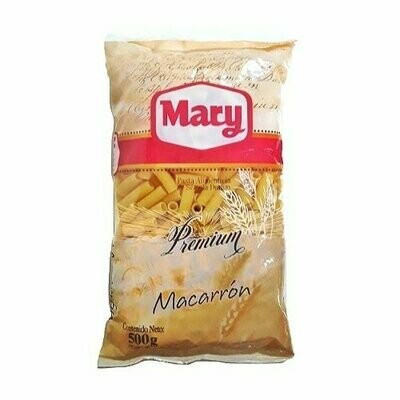 MARY PASTA MACARRON 500GR