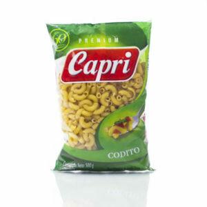 CAPRI PASTA PREMIUN CODITO 500GR