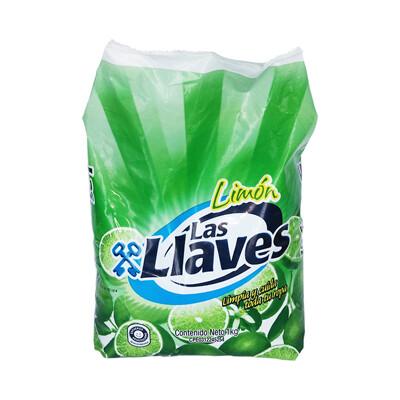 LAS LLAVES DETERGENTE LIMON 1KG