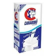 CARABOBO LECHE ENTERA ESTERILIZADA UHT 1LT INLA02