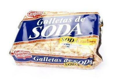 CARABOBO GALLETA SODA CELOFAN 240GR