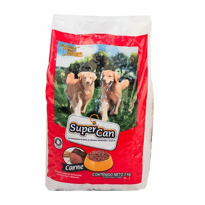 SUPER CAN CARNE 2 KG