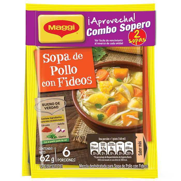 MAGGI MEZCLA DE SOPAS 2 UND