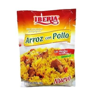 IBERIA BASE PARA ARROZ CON POLLO 50GR