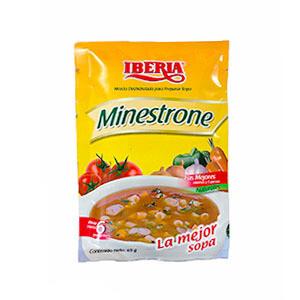 IBERIA SOPA MINESTRONE 65GR