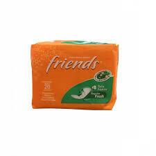 FRIENDS PROTECTORES DIARIOS MANZANILLA 20UND REF-50000675