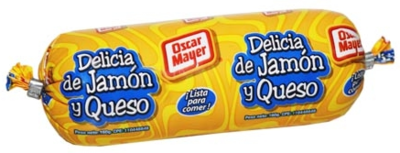 OSCAR MAYER DELICIA JAMON QUESO 160GR