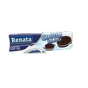 RENATA GALLETAS TUBULAR CHOCO/VAINILLA 112GR 3530464