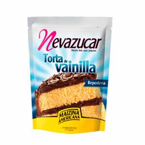 NEVAZUCAR TORTA VAINILLA MEZCLA 520GR