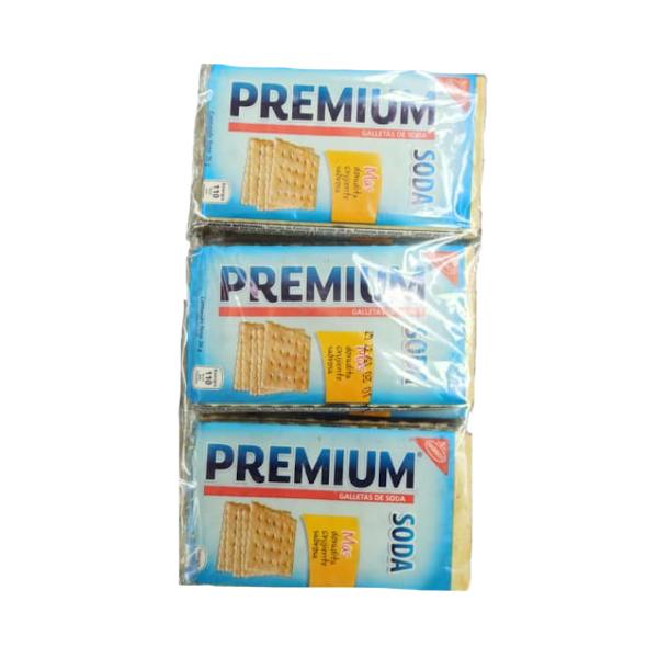 PREMIUM GALLETA SODA 156GR