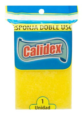 CALIDEX ESPONJA DOBLE USO 1UN IMP001