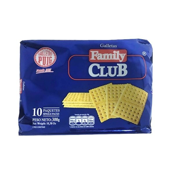 FAMILY CLUB GALLETAS 300GR
