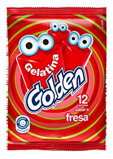 GOLDEN GELATINA  FRESA 96GR