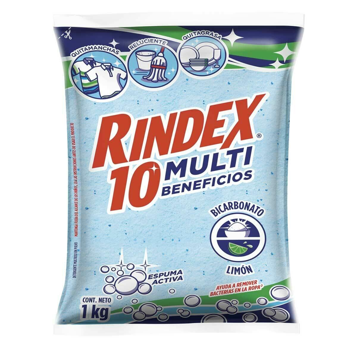 RINDEX DETERGENTE LIMON 1000GR