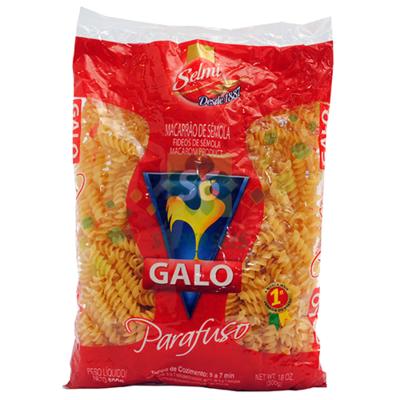 GALO PASTA CORTA TORNILLO 500GR