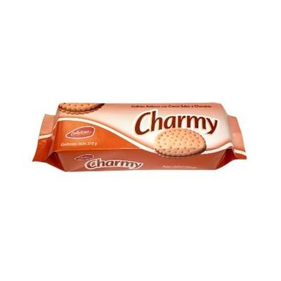 CHARMY GALLETAS RELLENAS CHOCOLATE 216GR