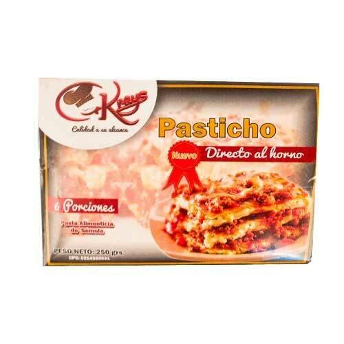 KRAYS PASTICHO DIRECTO AL HORNO 250GR