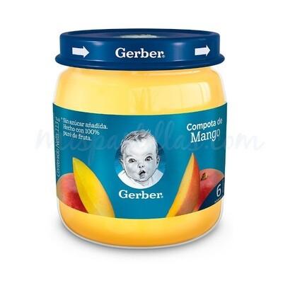 GERBER COMPOTA SABOR MANGO 113GR REF-12459289