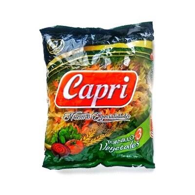 CAPRI PASTA  TORNILLO CON VEGETALES 500GR