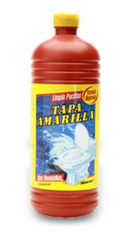 TAPA AMARILLA LIMPIA POCETA 500ML