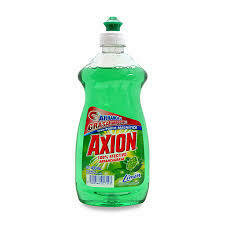 AXION LAVAPLATOS LIQ.LIMON 400CC