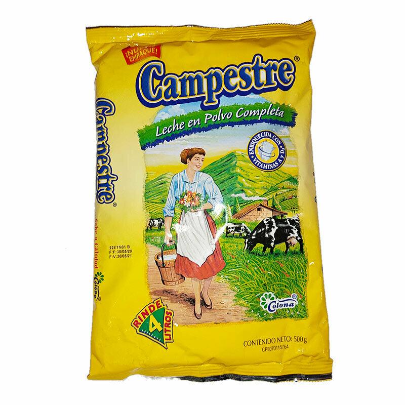 CAMPESTRE LECHE EN POLVO SOBRE 500GR
