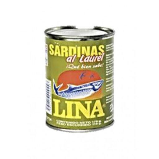 LINA SARDINA AL LAUREL 170GR