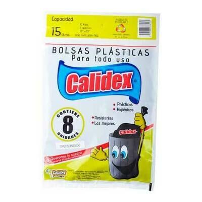 CALIDEX BOLSA MULTIUSO PREMIUM 15LT 8UND