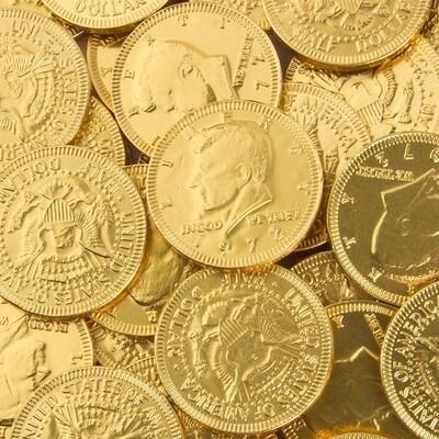 DOLLAR COINS MIONEDAS CHOCOLATE 1UND