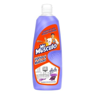 MR.MUSCULO VIDRIO MULTIUSO LAVANDA 500ML