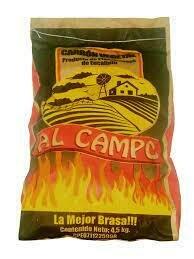 AL CAMPO CARBON VEGETAL 4.5KG