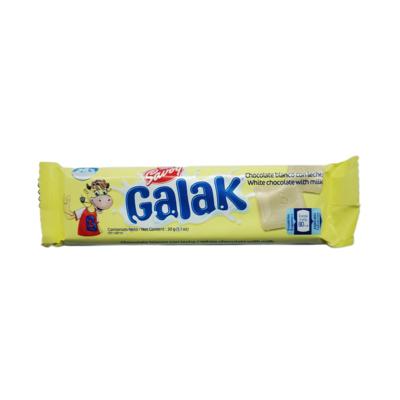 GALAK CHOCOLATE BLANCO MOST. 30GR