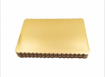 BASE ORO P/TORTA 28X28CM