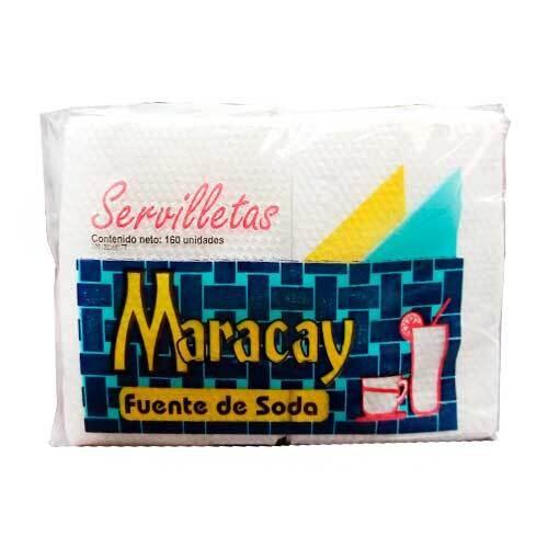 MARACAY SERVILLETA FUENTE SODA PEQ.160UND